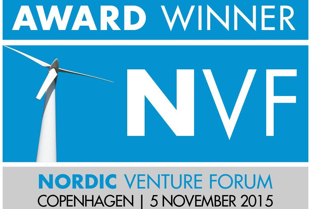 Fluidan Wins Best Presentation Award at Nordic Venture Forum