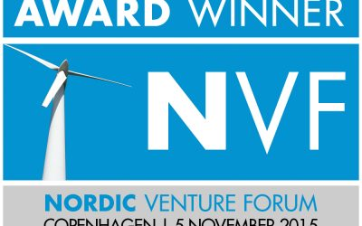 Fluidan Wins Best Presentation Award at Nordic Venture Forum