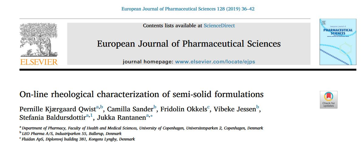 European Journal f Pharmaceutical Sciences