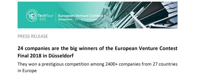 Fluidan is a winner in European Venture Contest Finals 2018