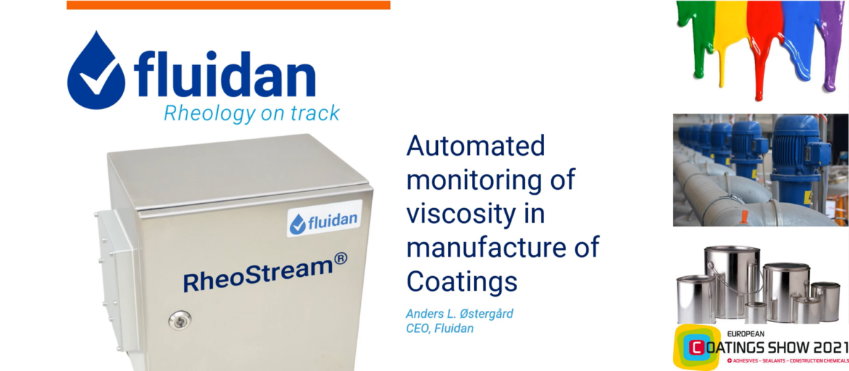 Fluidan presented at European Coatings Show Conference 2021